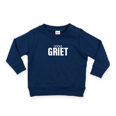 baby sweater met COOLE GRIET