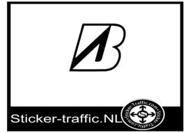 Bridgestone design 2 sticker