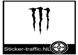 Monster energie design 2 sticker