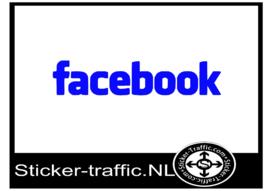 Facebook design 2 sticker