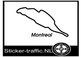 Montreal circuit sticker