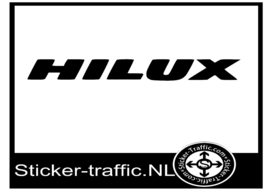Toyota Hilux sticker