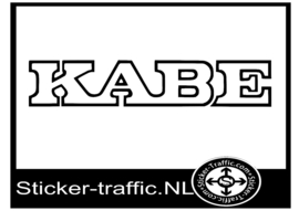 Kabe caravan sticker