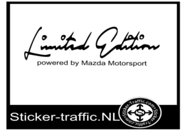 MAZDA Limited Edition Sticker