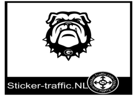 Bulldog design 1 sticker
