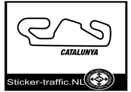 Catalunya circuit sticker