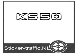 Zundapp Ks 50 sticker