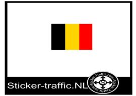 Belgie sticker