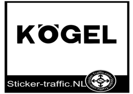 Kogel design 1 sticker