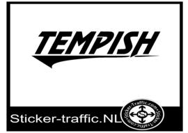 Tempish hockey design 1 sticker