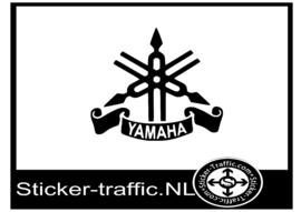 Yamaha logo design 3 sticker