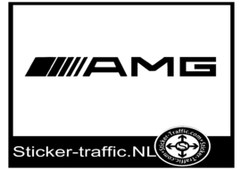 AMG remklauw sticker