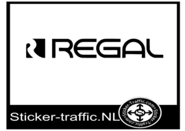 Regal caravan sticker