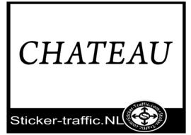 Chateau caravan sticker