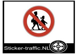 Leerlingen verboden sticker