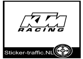 KTM racing design 3 sticker