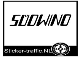 Sudwind caravan sticker