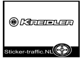 Kreidler met logo sticker
