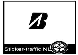Bridgestone design 1 sticker