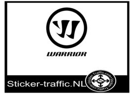 Warrior rond hockey sticker