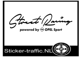 OPEL Street Racing Sticker