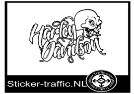 Harley Davidson design 35 sticker