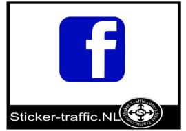 Facebook design 1 sticker