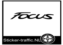 Ford Focus sticker
