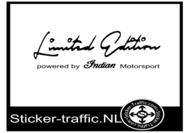 Indian limited edition sticker