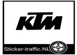 KTM design 2 sticker