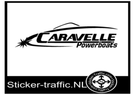 Caravelle powerboats sticker