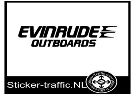 Evinrude outboards sticker
