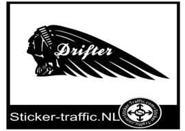 Indian Drifter motor sticker