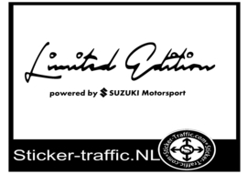 SUZUKI Limited Edition Sticker