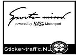 LAND-ROVER Sports Mind Sticker