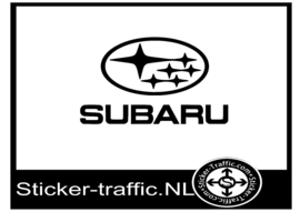 Subaru logo sticker