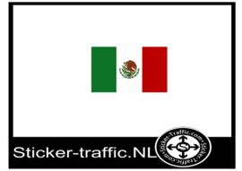 mexicaanse vlag sticker