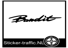 Suzuki bandit sticker