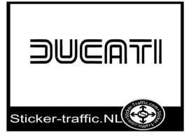 Ducati design 2 sticker