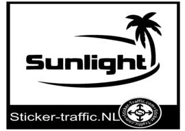 Sunlight caravan sticker