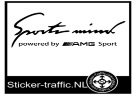AMG Sports Mind Sticker