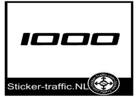 Ducati 1000 sticker
