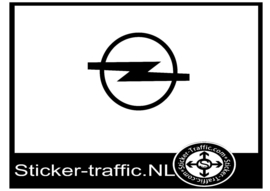 Opel logo sticker