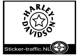 Harley Davidson design 19 sticker