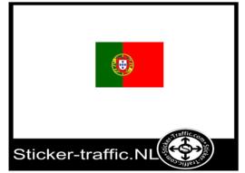 Portugal vlag sticker