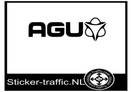 AGU hockey sticker