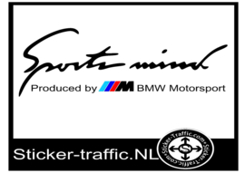 BMW Sports Mind Gekleurd Sticker