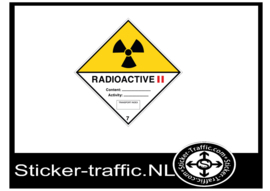 Radioactive categorie 2 sticker