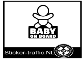 Baby on board design 6 sticker