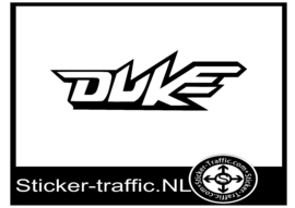 Duke sticker